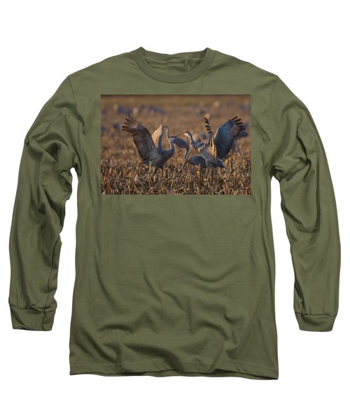 Kissing Sandhills Long Sleeve T-Shirt