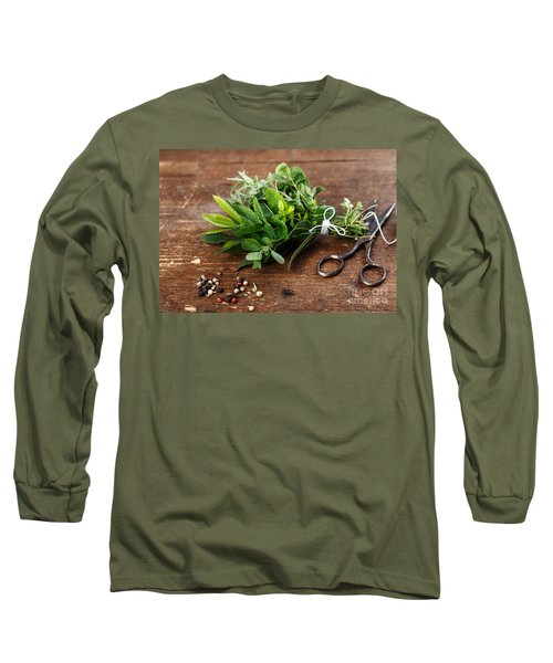 Kitchen Herbs Long Sleeve T-Shirt