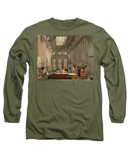 Kitchen, St. Jamess Palace, Engraved Long Sleeve T-Shirt