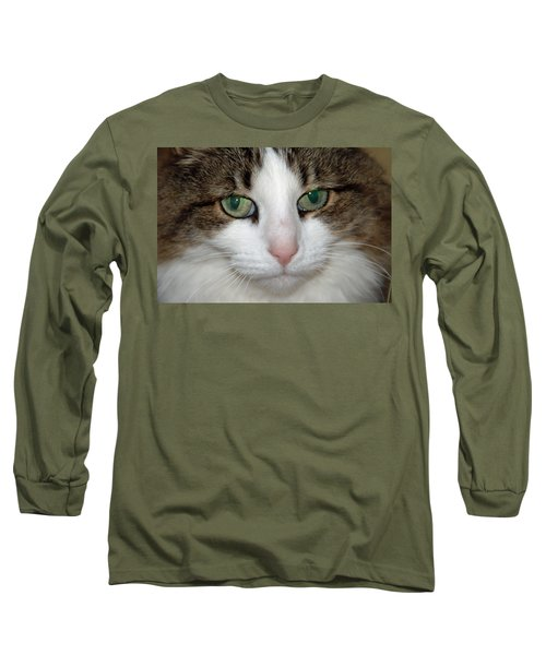 Long Sleeve T-Shirt featuring the photograph Kitty by Aimee L Maher Photography and Art Visit ALMGallerydotcom