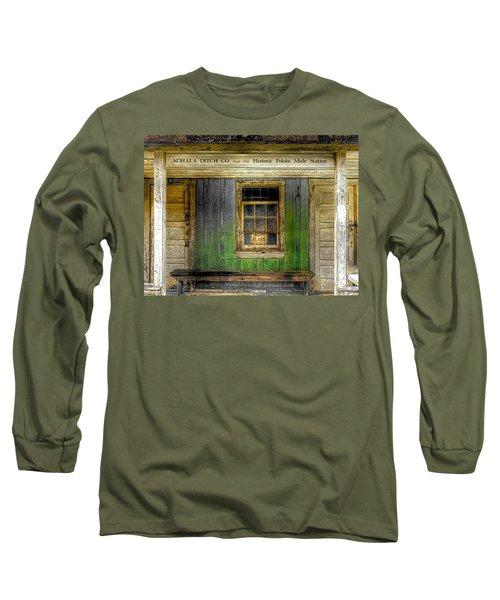 Kohala Mule Station Long Sleeve T-Shirt