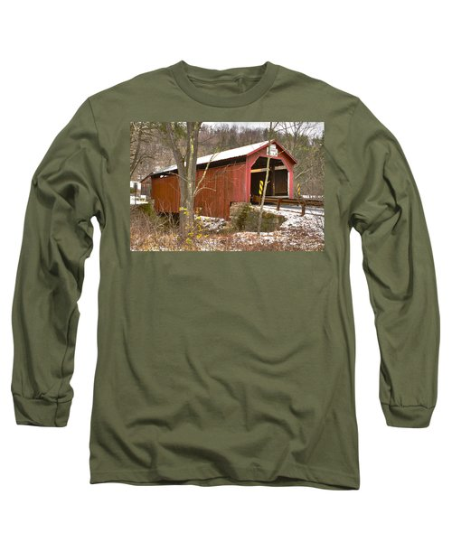 Krickbaum Bridge  Long Sleeve T-Shirt