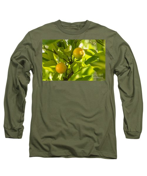 Kumquats Long Sleeve T-Shirt
