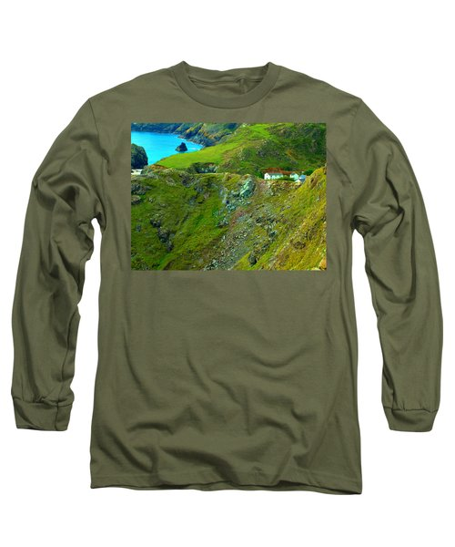 Kynance Cove Long Sleeve T-Shirt by Rachel Mirror
