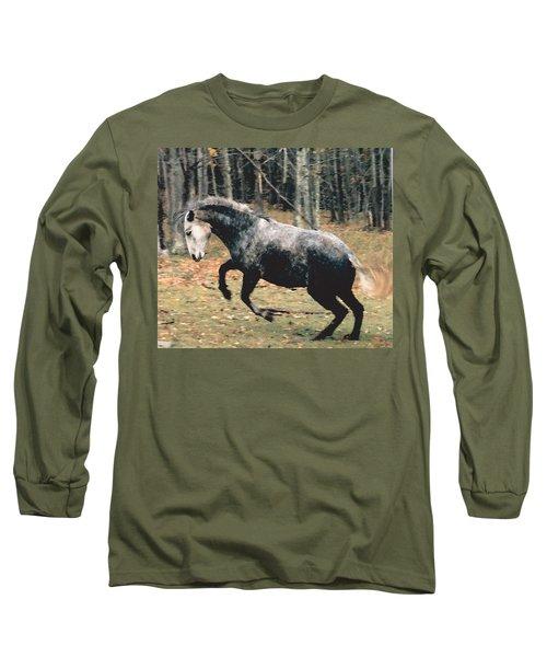 La Favorita Contratercero Long Sleeve T-Shirt by Patricia Keller