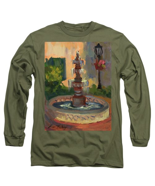 La Quinta Resort Fountain Long Sleeve T-Shirt