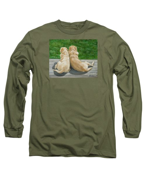 Labrador Lazy Afternoon Long Sleeve T-Shirt