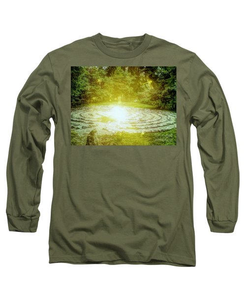 Labyrinth Myth And Mystical Long Sleeve T-Shirt