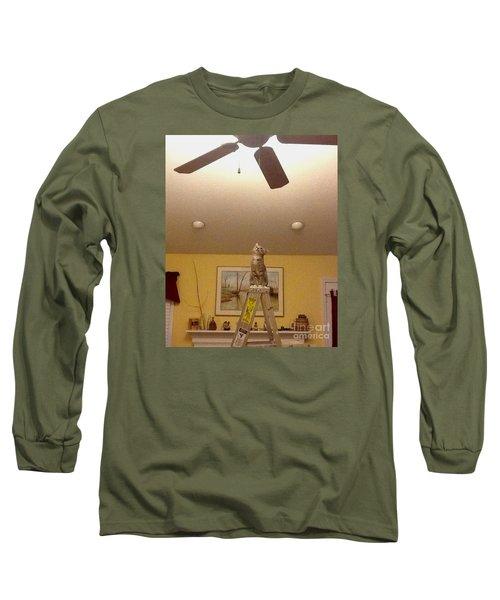 Ladder Cat Long Sleeve T-Shirt
