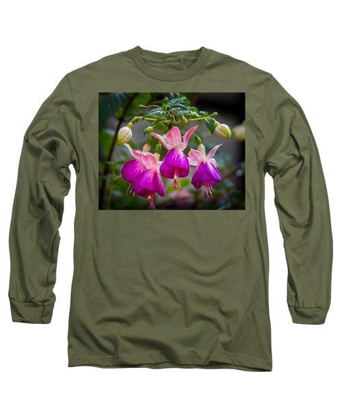 Ladies Dancing Long Sleeve T-Shirt