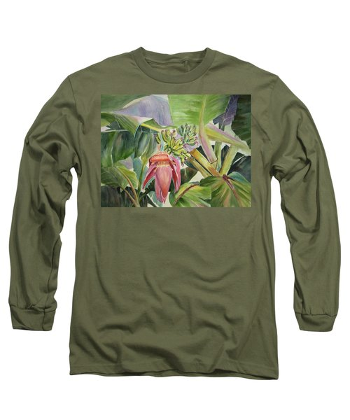 Lady Fingers - Banana Tree Long Sleeve T-Shirt
