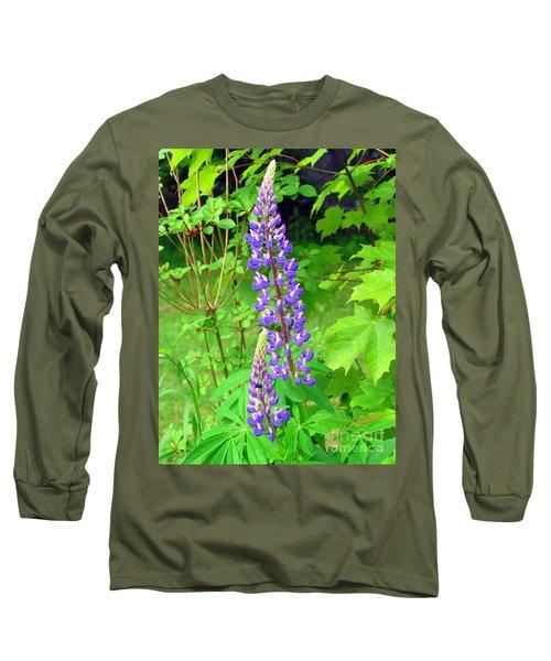 Lady Lupine Long Sleeve T-Shirt