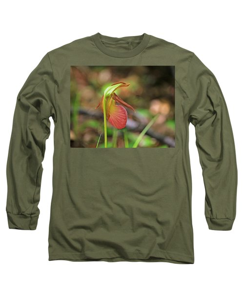 Lady Slippers At Moore State Park 4 Long Sleeve T-Shirt