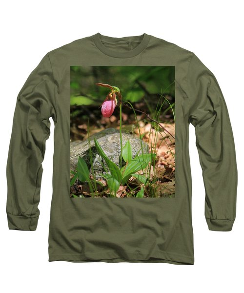 Lady Slippers At Moore State Park 3 Long Sleeve T-Shirt