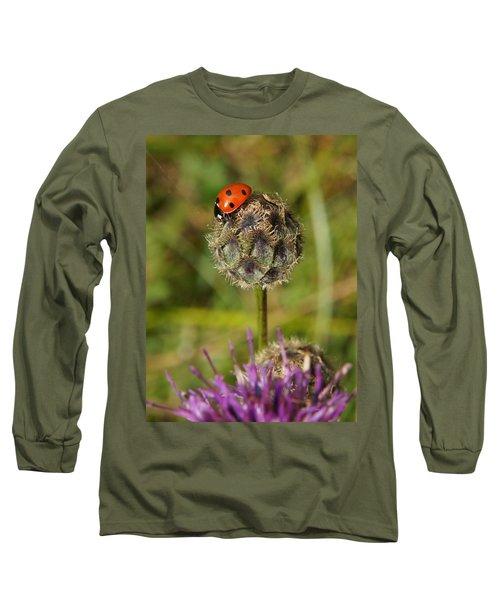 Ladybird Long Sleeve T-Shirt by Ron Harpham