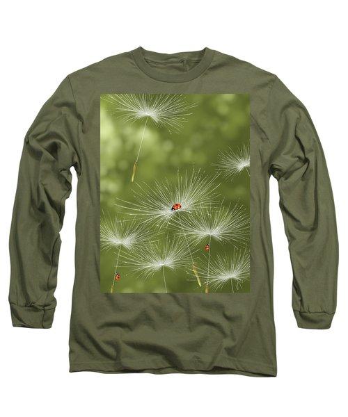 Ladybug Long Sleeve T-Shirt by Veronica Minozzi