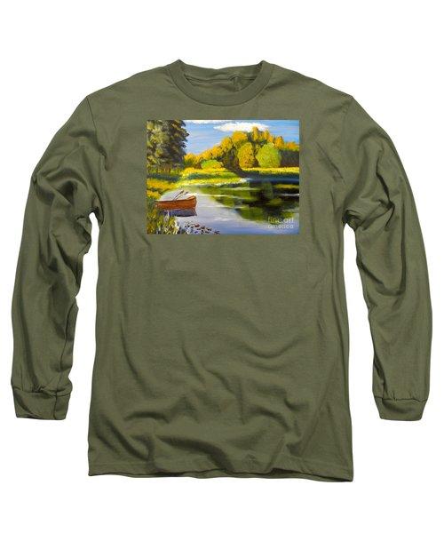 Lake Illawarra At Primbee Long Sleeve T-Shirt
