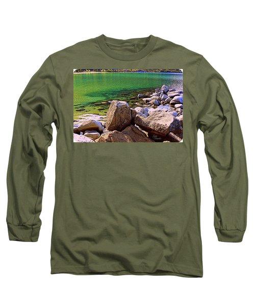 Lake Tahoe Green Long Sleeve T-Shirt