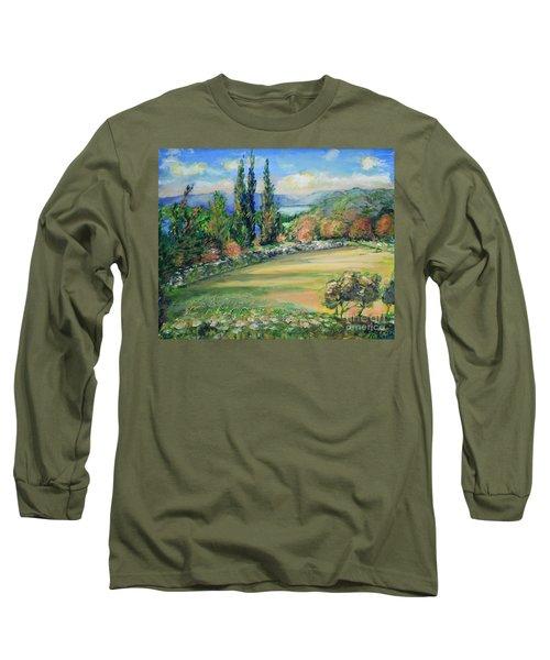 Landscape From Kavran Long Sleeve T-Shirt
