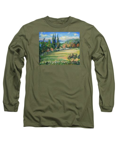 Landscape From Kavran Long Sleeve T-Shirt