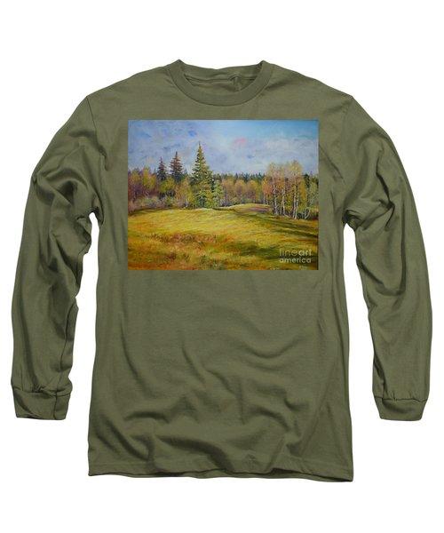 Landscape From Pyhajarvi Long Sleeve T-Shirt