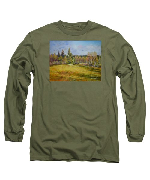 Landscape From Pyhajarvi Long Sleeve T-Shirt