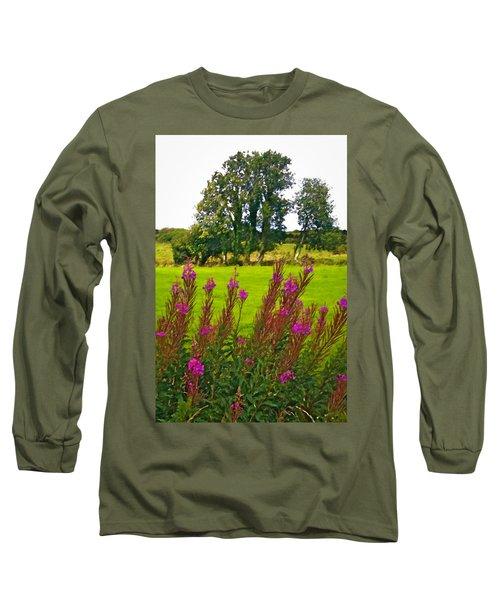 Lanna Fireweeds County Clare Ireland Long Sleeve T-Shirt