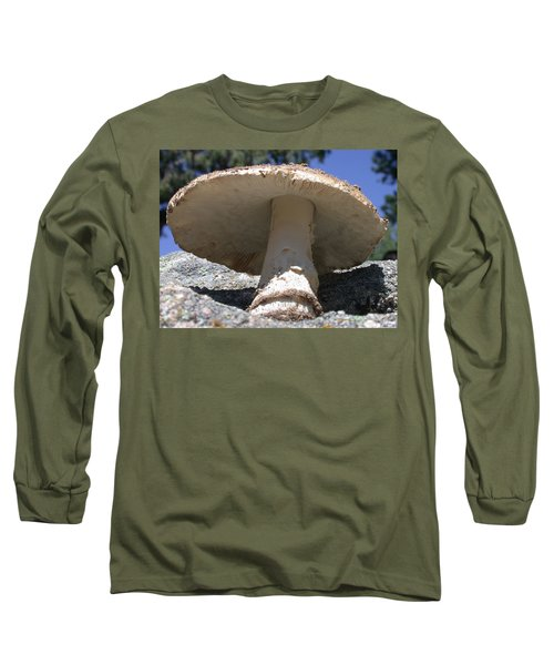 Large Mushroom Long Sleeve T-Shirt