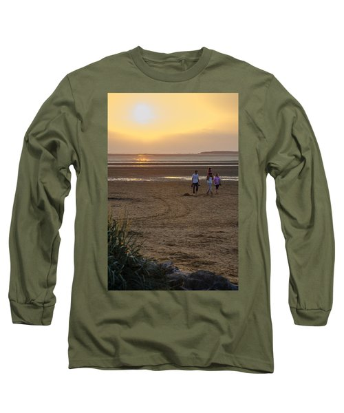 Last Colourful Days Of Summer Long Sleeve T-Shirt by Spikey Mouse Photography