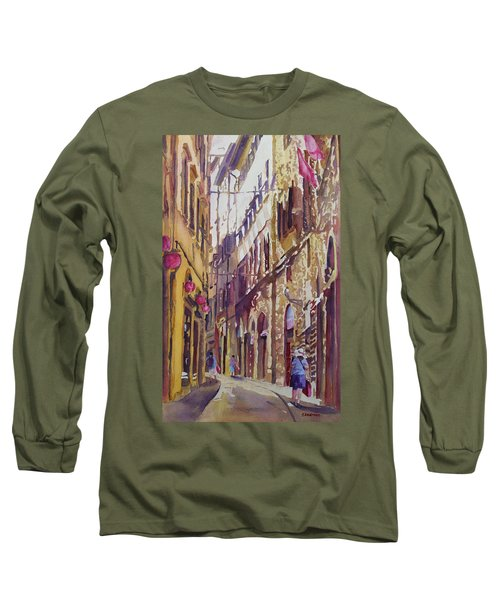 Late Afternoon In Florence Long Sleeve T-Shirt