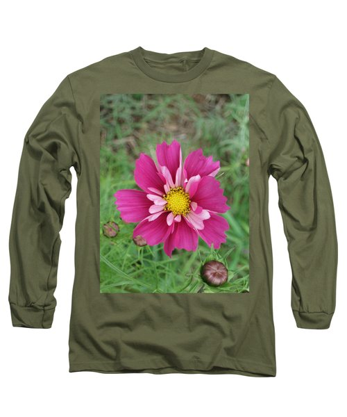 Lavender Cosmo Long Sleeve T-Shirt