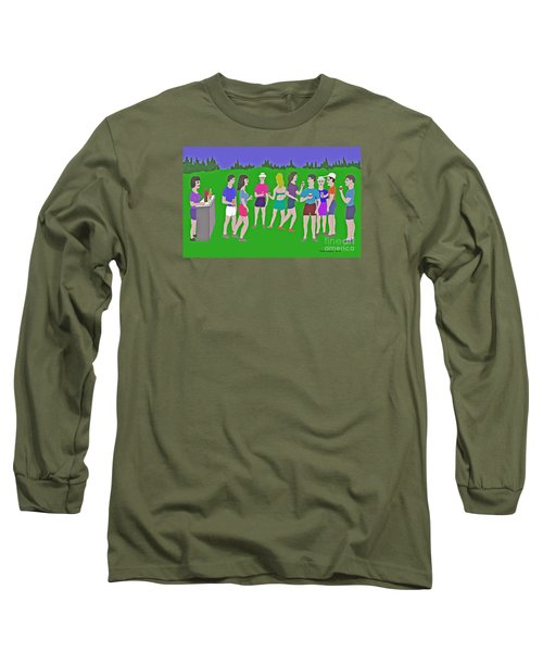 Lawn Party  Long Sleeve T-Shirt