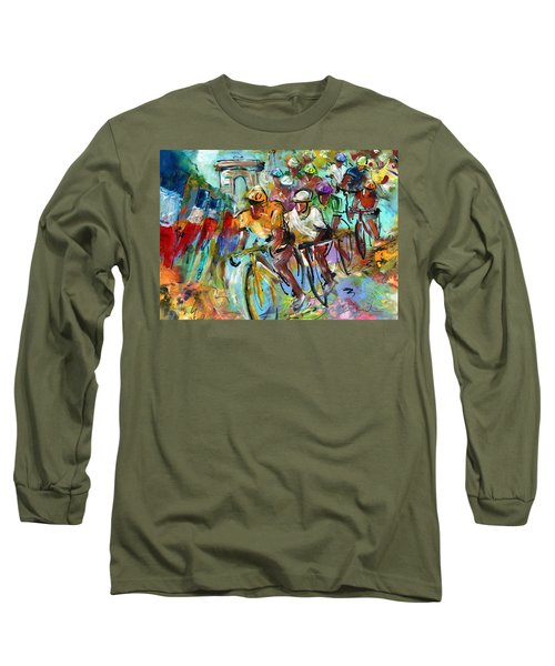 Le Tour De France Madness 02 Long Sleeve T-Shirt