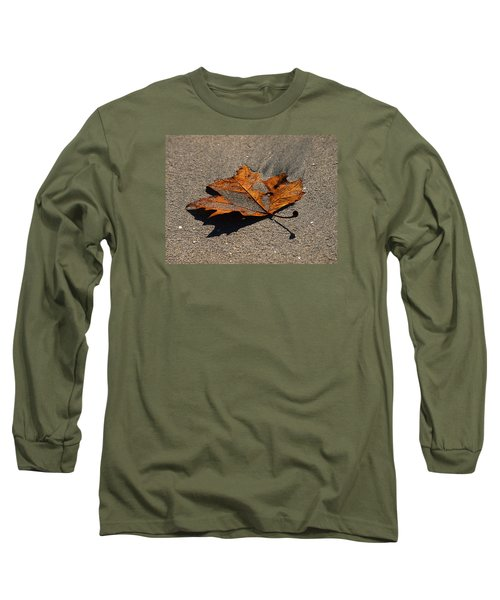 Leaf Composed Long Sleeve T-Shirt by Joe Schofield