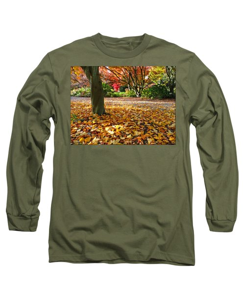 Leaves And More Leaves Long Sleeve T-Shirt