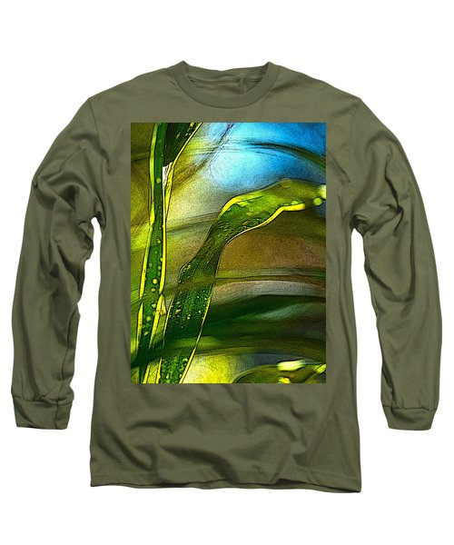 Leaves And Sky Long Sleeve T-Shirt
