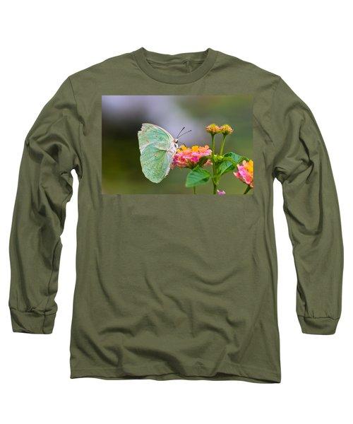 Lemon Emigrant Butterfly Long Sleeve T-Shirt