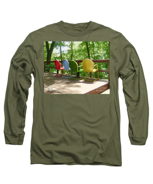 Let's Sit Long Sleeve T-Shirt