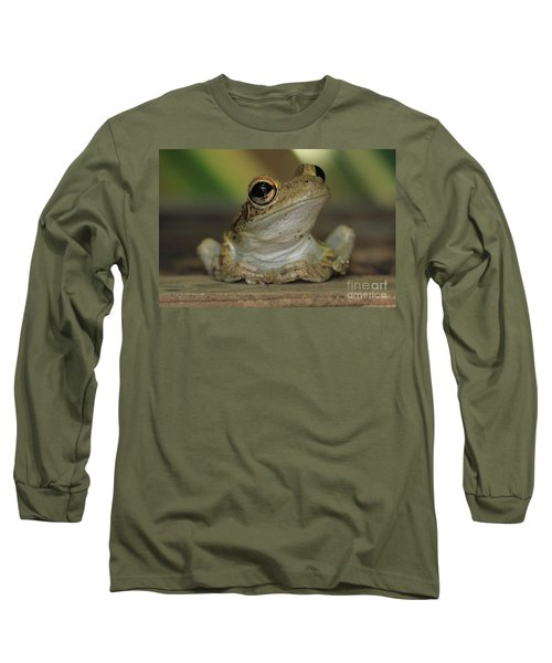 Let's Talk - Cuban Treefrog Long Sleeve T-Shirt
