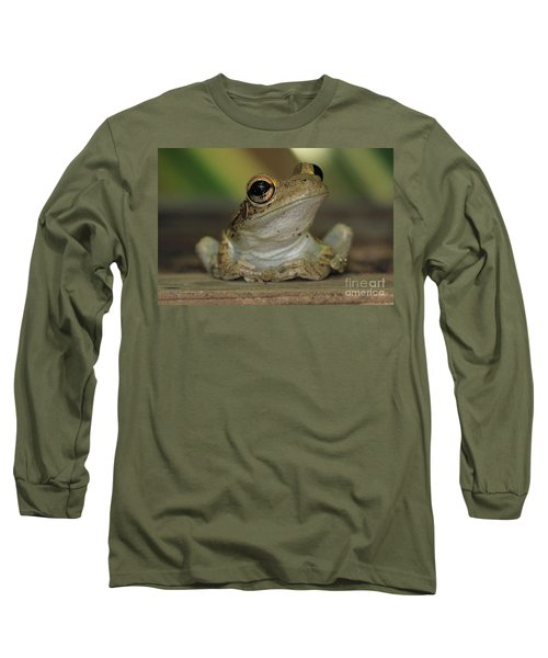 Let's Talk - Cuban Treefrog Long Sleeve T-Shirt