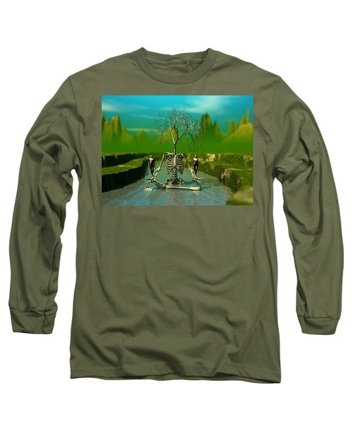 Life Death And The River Of Time Long Sleeve T-Shirt