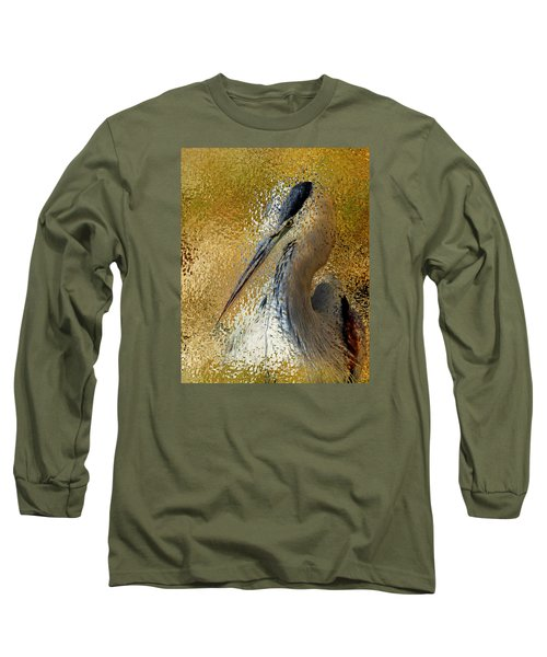 Life In The Sunshine - Bird Art Abstract Realism Long Sleeve T-Shirt