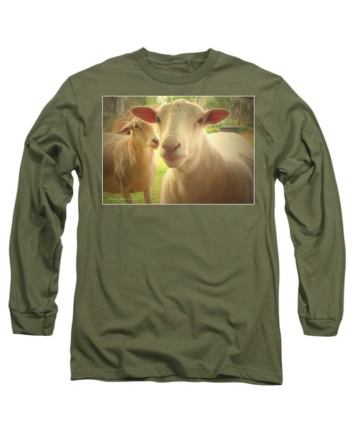 Light And Peace Long Sleeve T-Shirt