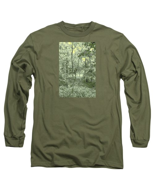 Light Forest Scene Long Sleeve T-Shirt