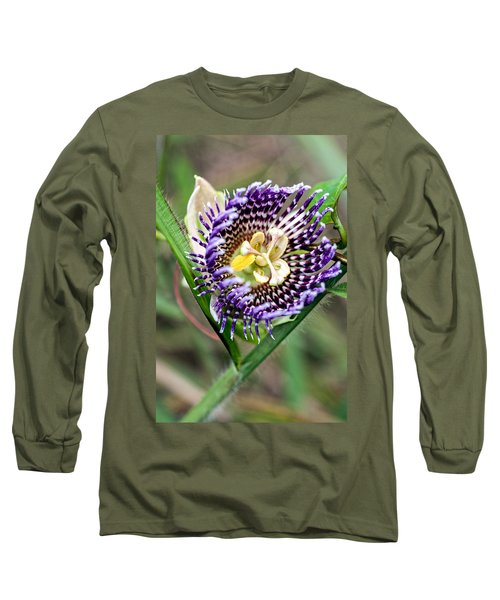 Long Sleeve T-Shirt featuring the photograph Lilikoi Flower by Dan McManus