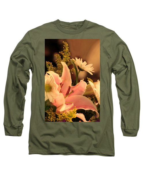 Lily In Pink Long Sleeve T-Shirt