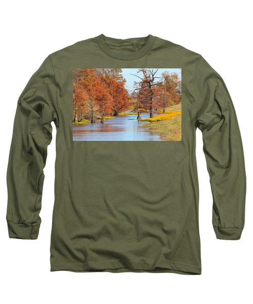 Lined In Yellow Long Sleeve T-Shirt