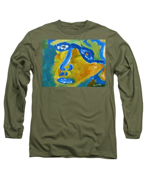 Lion Eyes  Long Sleeve T-Shirt