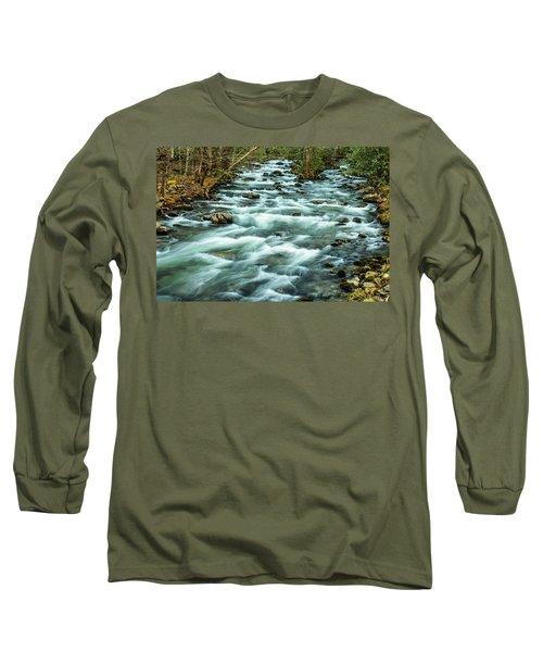 Little Pigeon River Long Sleeve T-Shirt