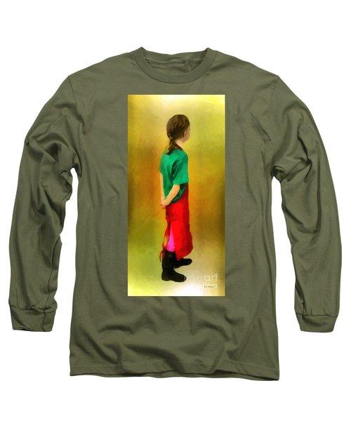 Little Shopgirl Long Sleeve T-Shirt